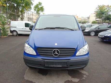 Mercedes-Benz Vito  LONG 115CDI 150PS  '08 - 8.650 EUR (Συζητήσιμη)