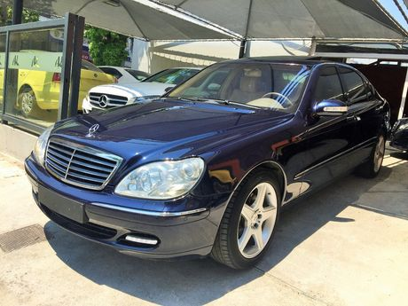 Mercedes-Benz S 350 FULL EXTRA AYTOMATIC  '03 - 9.500 EUR (Συζητήσιμη)