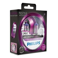 SET H4 ColorVision Purple ΚΑΙΝ. PHILIPS 36791128 MITSUBISHI ...