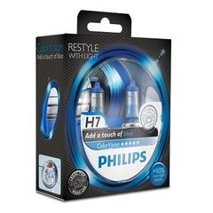 SET H7 ColorVision Blue ΚΑΙΝ. PHILIPS 36810928 MULTICAR Fumo...