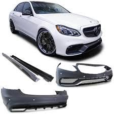 Complete Body Kit + Exhaust Tips Mercedes Benz W212 E-Class ...