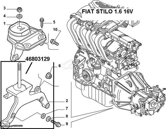 Fiat Stilo 1 6 16v 46803129