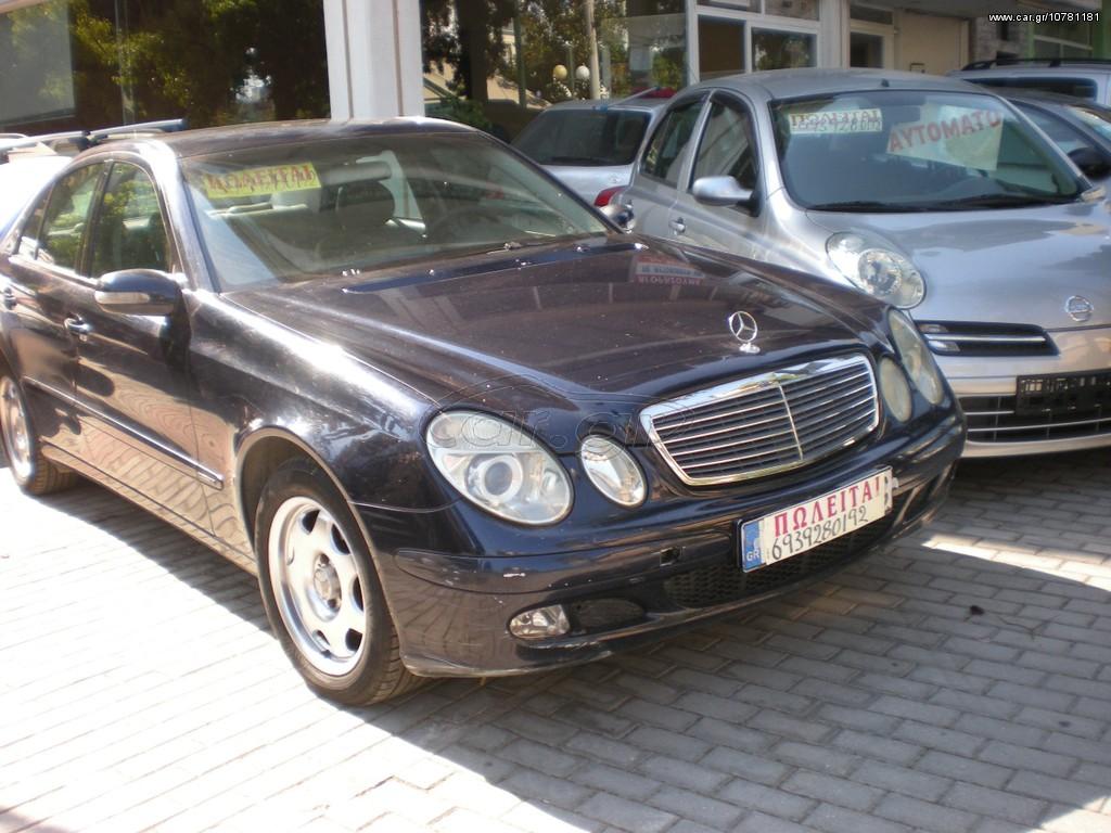 mercedes benz e 200 classic aytomato 39 2003 6550 0 eur