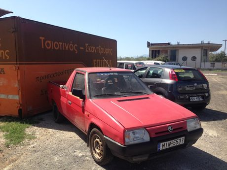 Skoda Pick up 1300CC '96 - 1.990 EUR