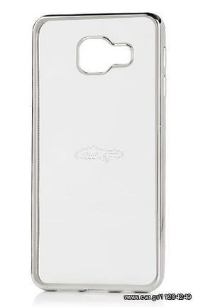 50e5a79c6e Θήκη Samsung Galaxy A5 2016 ( A510 ) Σιλικόνης TPU Πλαίσιο - Ασημί - OEM  Παλιά Σχεδίαση