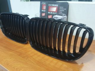 BMW SERIES 1M E81 - E87 ΜΑΣΚΑΚΙΑ ΠΡΟΦ/ΡΑ / SPORT GRILLE GLOSS BLACK