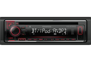 RADIO MP3 USB BLUETOOTH KENWOOD KDC-BT520U ΚΟΚΚΙΝΟΣ ΦΩΤΙΣΜΟΣ...