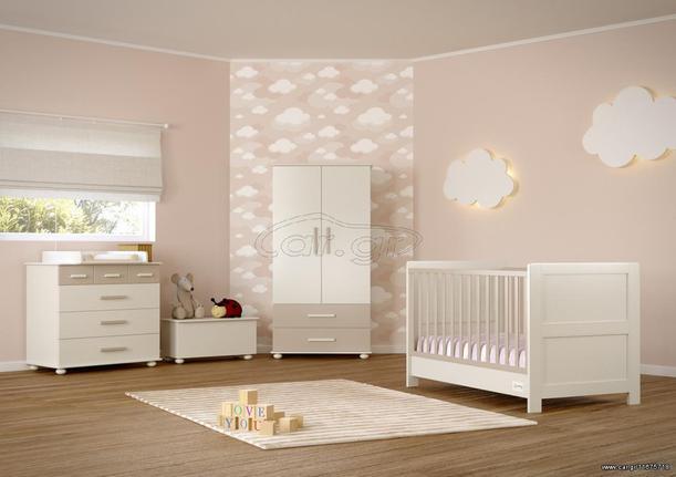 27860c1554f Αστερίας Bebe Χίος κούνια μετατρεπόμενη σε παιδικό κρεβάτι με δυνατότητα  επιλογής χρωμάτων Παλιά Σχεδίαση