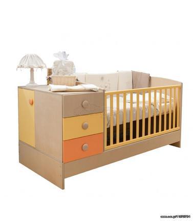 90a8b2dac40 Αστερίας Bebe Angel πολυμορφικό κρεβάτι - κούνια με δυνατότητα επιλογής  χρωμάτων Παλιά Σχεδίαση