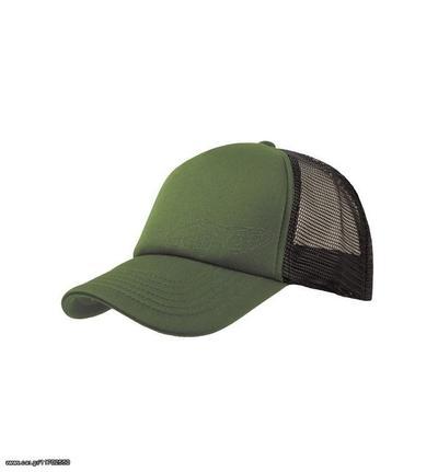 c91f755b1da1 Atlantis 847 Rapper καπέλο Πεντάφυλλο καπέλο τζόκεϊ 100% πολυέστερ -  Olive Black Παλιά Σχεδίαση