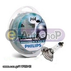 PHILIPS H4 EXTREME VISION +100% www.eautoshop.gr παραδοση πα...