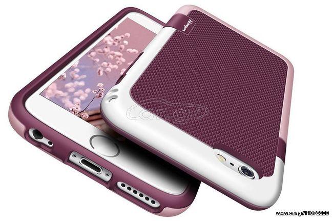 f294bac674 Θήκη iphone 6   6s Walnutt Hybrid Σιλικόνης TPU με πλαίσιο PC Σκληρό  Πλαστικό - 2784 - Ροζ Παλιά Σχεδίαση. Previous