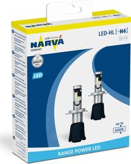 NARVA LED H4 6200K LUMILEDS RANGE POWER 16W GROUP PHILIPS 2 ...