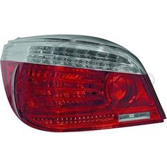 BMW SERIES 5 E60/61 ΦΑΝΑΡΙΑ ΠΙΣΩ LED RED - CHROME  / KOKKINA - XΡΩΜΙΟ
