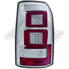LANDROVER DISCOVERY ΦΑΝΑΡΙΑ ΠΙΣΩ LED CHROME-RED / ΧΡΩΜΙΟ -ΚΟΚΚΙΝΑ