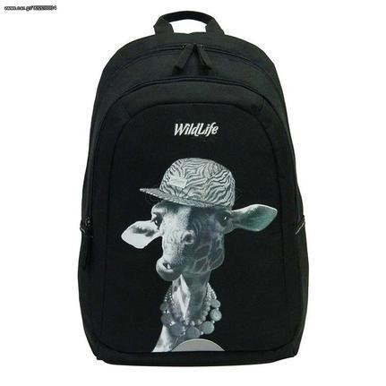 e42045d411 Bagtrotter τσάντα μαύρη καμηλοπάρδαλη με 2 θήκες - € 21 EUR - Car.gr
