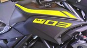 Yamaha MT-03 Night fluo matte