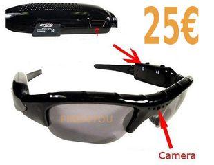 f6e95984e2 Spy γυαλιά ηλίου με κρυφή κάμερα για βίντεο-φωτογραφίες   καταγραφή  ήχου.Απίθανο gadget