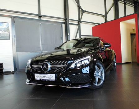 Mercedes-Benz C 180 COUPE - AMG - AUTO - PANORAMA '16 - € 46.000 EUR