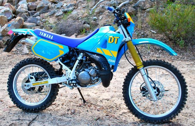 Yamaha Dt 200 ζ 125 υζ Rd Wr 200cc 100 Eur Cargr