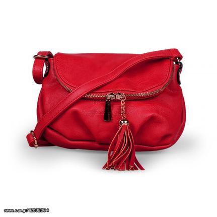 Γυναικείο τσαντάκι χιαστί - Κόκκινο - OEM 50620 - € 21 EUR - Car.gr db911271ef1