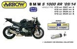 BMW S1000RR 09-13 SLIP ON ARROW Works TITAN EEC ΑΠΌ 713 € ΠΡ...