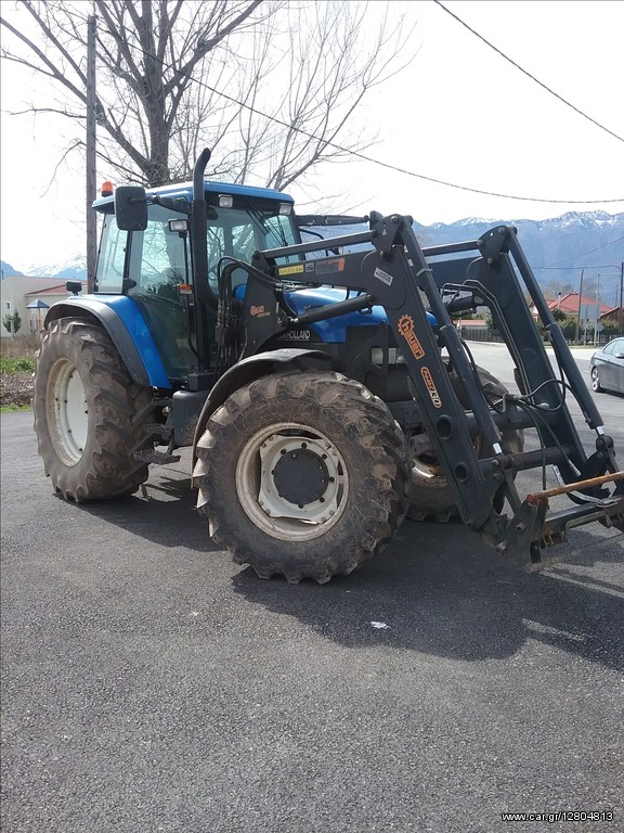 New Holland TM150 SUPER STEER '2003 - 32000 0 EUR - Car gr