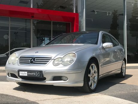 Mercedes-Benz C 200 C200 SPORTSCOUPE EVOLUTION  '01 - 3.950 EUR (Συζητήσιμη)