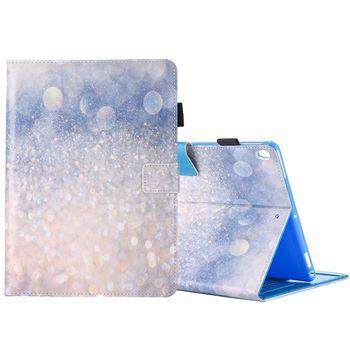 For iPad Pro 10.5 inch Shiny Sand Print Horizontal Flip PU Leather ...