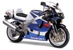 Suzuki GSX-R 750 srad injection