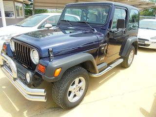 Jeep Wrangler 2.4 HARD TOP ΓΡΑΜΜΑΤΙΑ!!