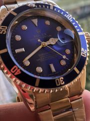 Rolex  Submariner Blue Gold