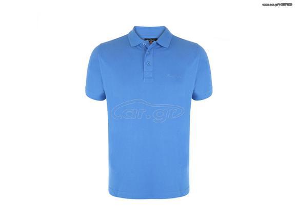 80064d0bdb97 Pierre Cardin Ανδρικό μπλουζάκι polo T-Shirt με κοντό μανίκι και κουμπιά σε  Μπλε Royal χρώμα - Pierre Cardin Παλιά Σχεδίαση