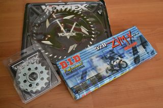 520 CONVERSION KIT HAYABUSA/B-KING (VORTEX SPROCKETS-DID ZVMX CHAIN)
