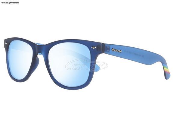 1f774c781f Polaroid Unisex Γυαλιά Ηλίου με Μπλε σκελετό