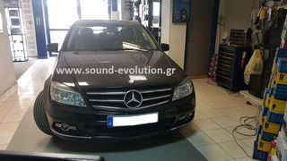 MERCEDES C200 (W204) 2007>2011 LM DIGITAL J265 ANDROID 2 ΧΡΟΝΙΑ ΓΡΑΠΤΗ ΕΓΓΥΗΣΗ www.sound-evolution.gr