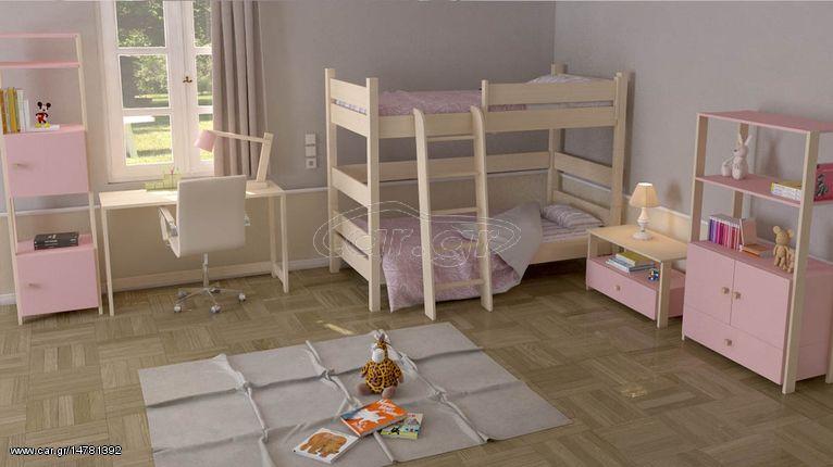 4bd8605e38e Kids Code Παιδική κουκέτα μασίφ παράλληλη φοίνικας III - € 872 EUR ...