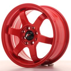 Japan Racing JR3 15x7 ET40 4x100/114 White Biliris wheels
