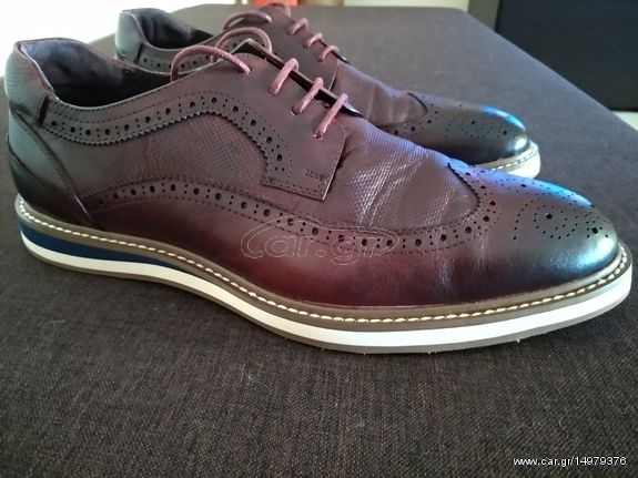 PRIVE Oxford ανδρικά παπούτσια ΓΝΗΣΙΟ ΔΕΡΜΑ 43 νούμερο και δώρο ανδρικό  αμάνικο Παλιά Σχεδίαση. Previous 1e91a0ebe54
