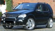 WIDE BODY KIT ΒRABUS LOOK ΓΙΑ MERCEDES-BENZ ML W163 (1998-2005)!