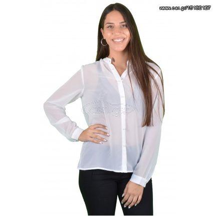Γυναικείο Πουκάμισο Λευκό - Noobass - € 18 EUR - Car.gr 4cd55abdd06