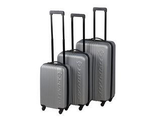 8af1b3f1aa Σετ 3 Βαλίτσες Ταξιδιού ABS με Τηλεσκοπικό Χερούλι