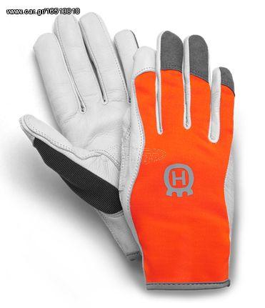 73ab343879 Husqvarna 57938000-8 Επαγγελματικά Δερμάτινα Γάντια Προστασίας (Νούμερο 8) Παλιά  Σχεδίαση