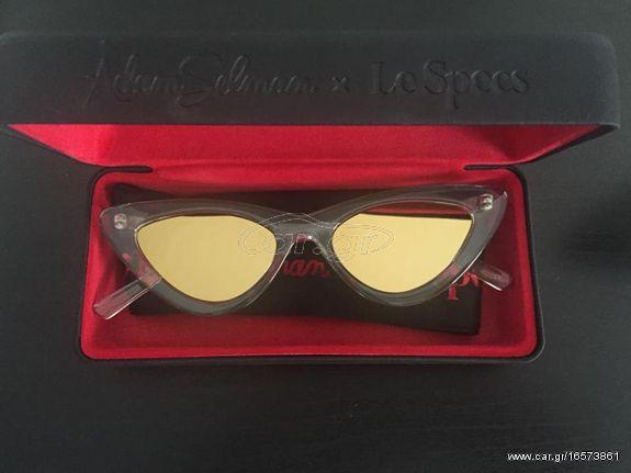 LE SPECS (Adam Selman) crystal grey γυαλιά ηλίου σε άριστη κατάσταση ... 1afbe0ac11f