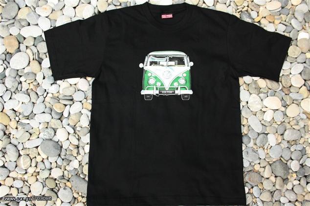 2f25df2c8349 VW Bus Green Vintage T-Shirt WT648 - € 9 EUR - Car.gr