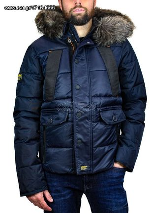 84571a6b9811 Ανδρικό Μπουφάν Superdry Chinook Jacket in Navy - € 91 EUR - Car.gr