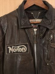 Norton vintage motorcycle jacket
