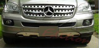 MERCEDES BENZ ML W164 FRONT & REAR BUMPER PROTECTION COVER / ΧΡΩΜΙΟ ΠΡΟΣΤΑΣΙΑΣ ΕΜΠΡΟΣ & ΠΙΣΩ ΠΡΟΦΥΛΑΚΤΗΡΑ