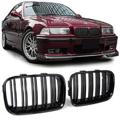 Καρδιές BMW 3 E36 M4 Look 91-96 Gloss Black