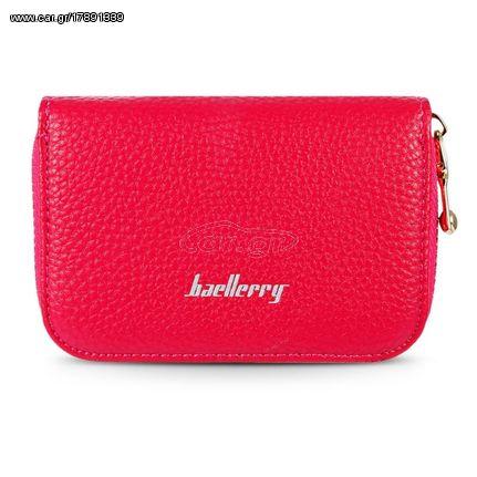5028176f9a Γυναικείο Φούξια Beallerry Δερμάτινο Πορτοφόλι Για Πιστωτικές Κάρτες ...